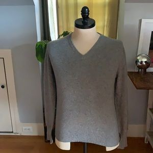Jaeger All Cashmere sweater. Made in Scotland